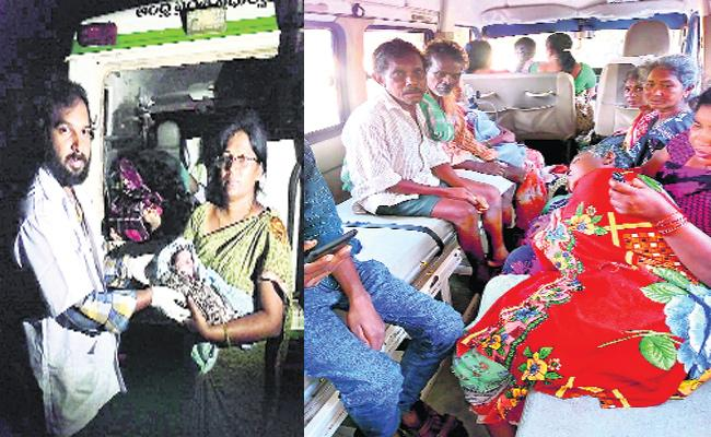 East Godavari People Suffering With 108 Delayed - Sakshi