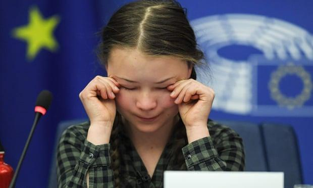 Greta Thunberg tells EU it needs Cathedral Thinking on Climate Change - Sakshi