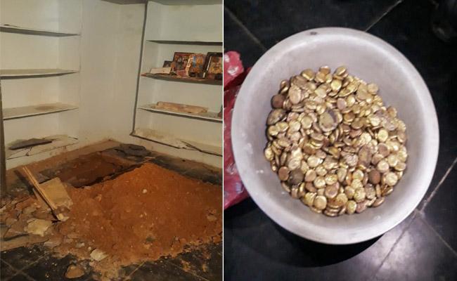20KG Of Fake Gold Found In Treasure Hunt In Suryapet - Sakshi