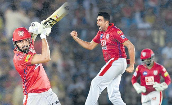 KXIP beat  Rajasthan Royals - Sakshi