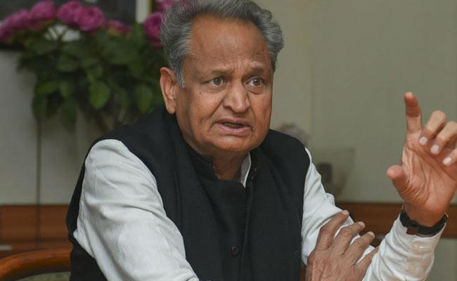 Ashok Gehlot Controversial Comments On Ram Nath Kovind - Sakshi
