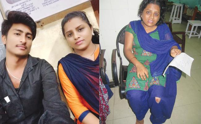 Husband Harassments on Pregnant Wife For Extra Dowry - Sakshi