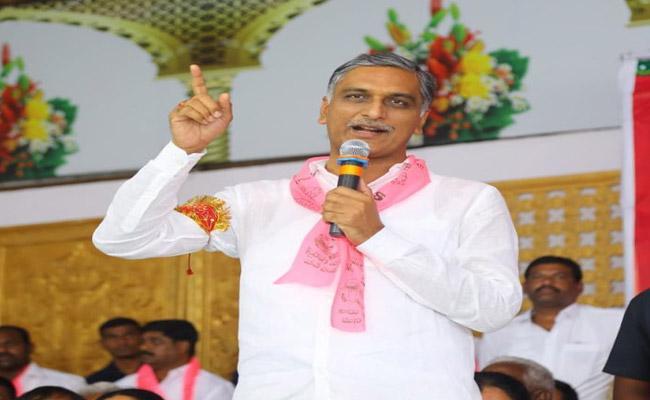 TRS eyeing 5 ZPTC seats in siddipet, says Harish Rao - Sakshi