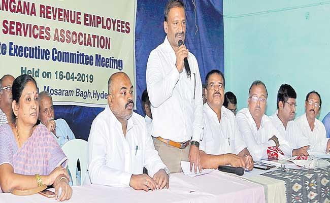 Revenue Staff Of The State Opposing Telangana Govt Decision - Sakshi