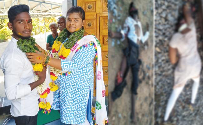Lovers Commits Suicide in Chittoor - Sakshi