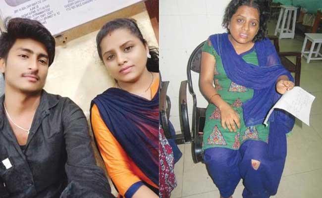 FIR Registered On Rajeswari Husband Damodar And Mother In Law Lalitha - Sakshi