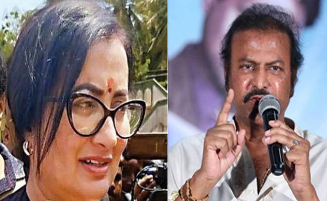 Manchu Mohan Babu Urges To Mandya People To Vote For Sumalatha - Sakshi