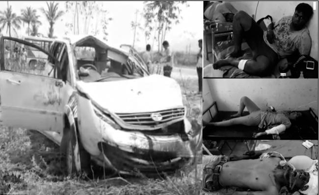 Road Accident In Chittoor District At Nagari - Sakshi