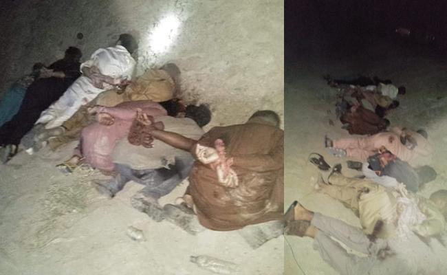 Gunmen kills 14 passengers in Balochistan - Sakshi