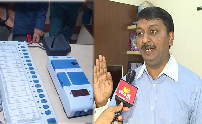 EVMs Can not Be Hacked Or Tampered, says IT Expert sandeep reddy - Sakshi