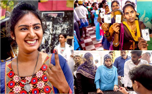 Second Phase Lok Sabha Elections 2019 Live Updates - Sakshi