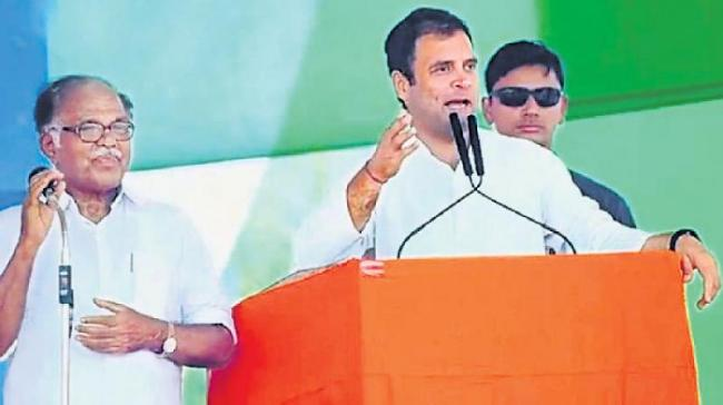 Rahul Gandhi speech translated by PJ Kurien - Sakshi