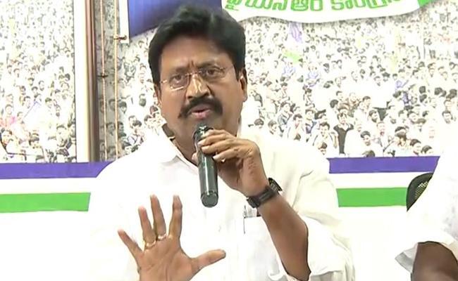 YSRCP Leader Samineni Udaya Bhanu Slams Chandrababu Over His Comments On EC - Sakshi