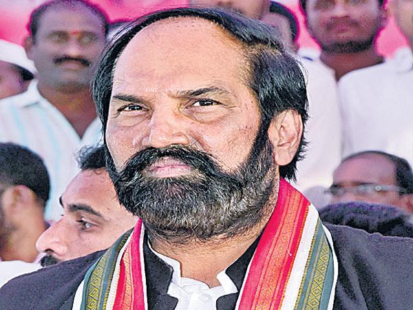 Uttam Kumar Reddy Comments On TRS Govt - Sakshi