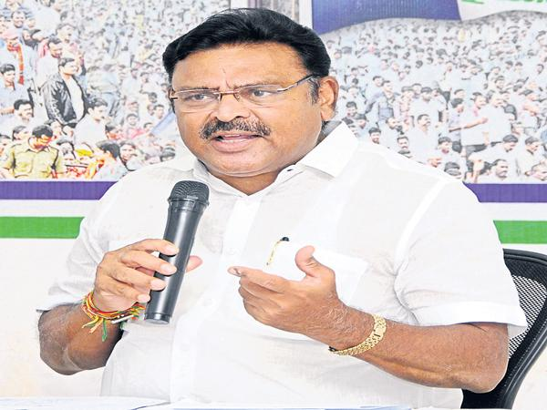 Ambati Rambabu Comments On Kodela Politics - Sakshi