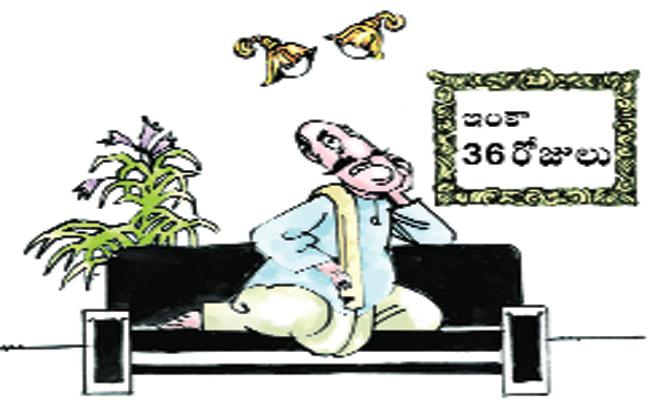 Political Leaders Tension on Election Results - Sakshi