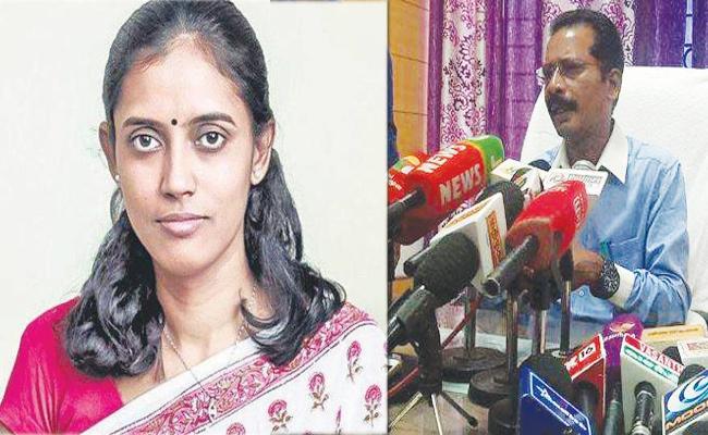 Collector Warning to Congress Candidate in Tamil Nadu - Sakshi