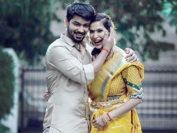 Bigg Boss Tamil Contestant Mahat Raghavendra Announces his Engagement with Girlfriend Prachi Mishra - Sakshi