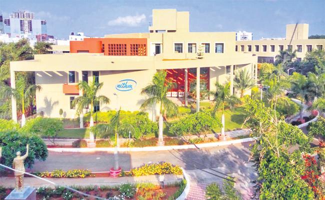 Nithum University Get Best Award - Sakshi
