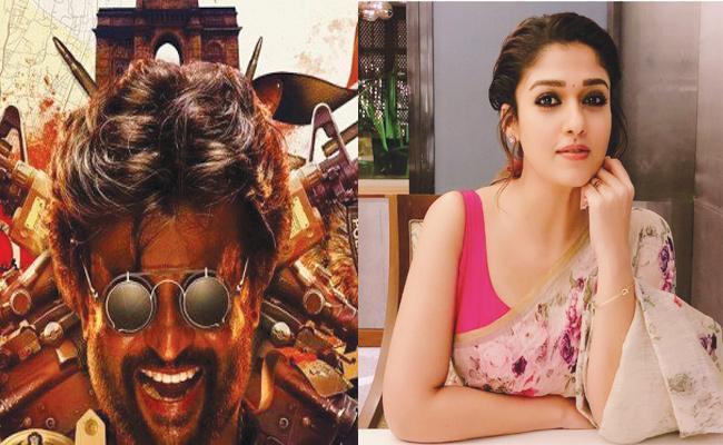 Nayantara in Rajinikanth Darbar Movie - Sakshi
