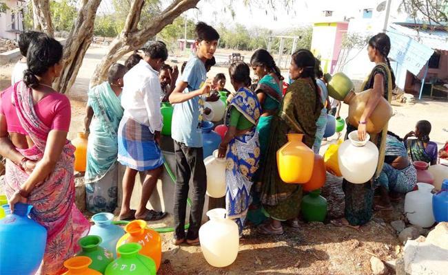 Water Problem in YSR Kadapa - Sakshi