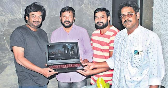 Puri Jagannadh Launched Aagraham Motion Poster - Sakshi