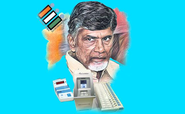 Closely monitoring the Ap polling day voting starts late - Sakshi