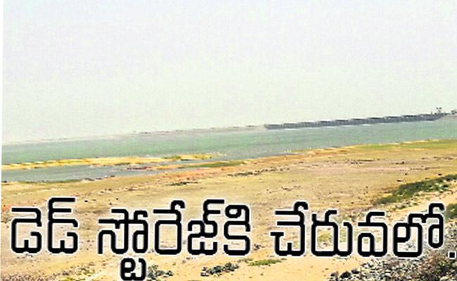 Sriram Sagar Project Water Level Reaches Dead Storage - Sakshi