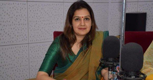Congress Leader Priyanka Chaturvedi Resigned from the Party Last Night - Sakshi