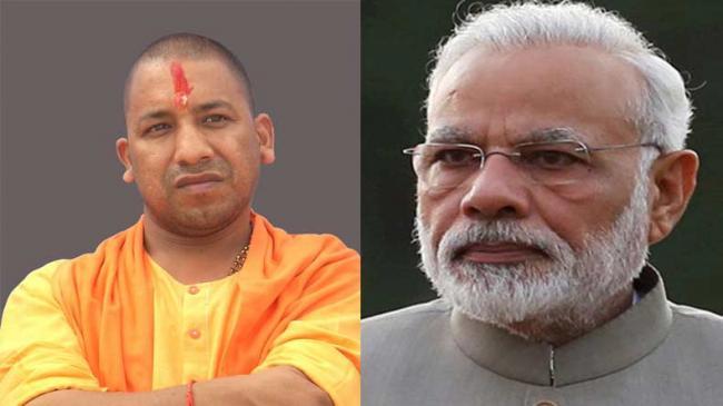 Congress leader insults Modi, Yogi Adityanath - Sakshi