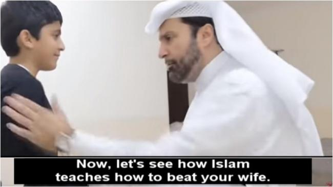 Qatar Sociologist Teaches Muslim Men How To Beat Women Correctly - Sakshi