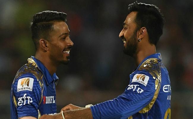 Krunal Pandya Praised Hardik Over His Performance In IPL - Sakshi