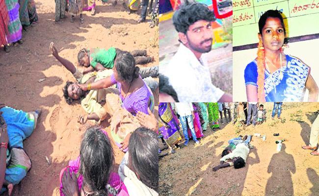 Lovers Suicide In Kalwakurthy - Sakshi