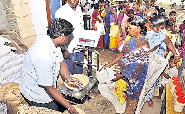 Ration Portability Services Delayed in Hyderabad - Sakshi