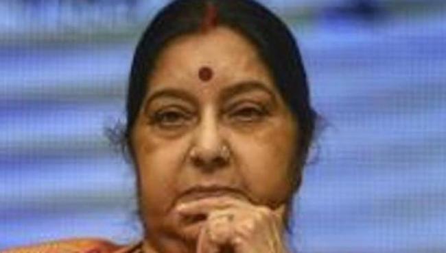Sushma Swaraj Said No Pakistani Soldier Or Civilian Died In Balakot Air Strike - Sakshi