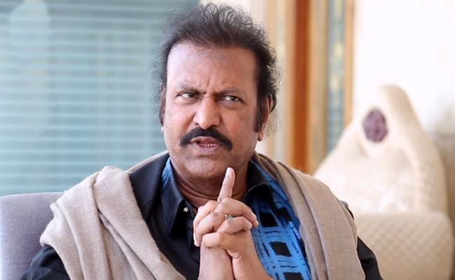 Actor Mohan Babu Responds On Check Bounce Case - Sakshi