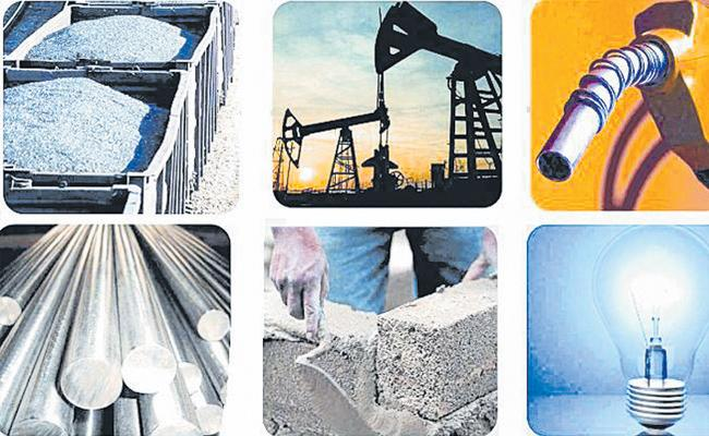 India infrastructure output grows 2.1percent in February - Sakshi