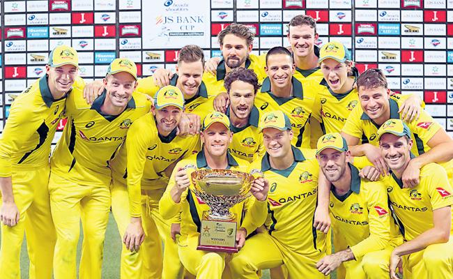 Australia whitewash Pakistan 5-0 despite Haris hundred - Sakshi