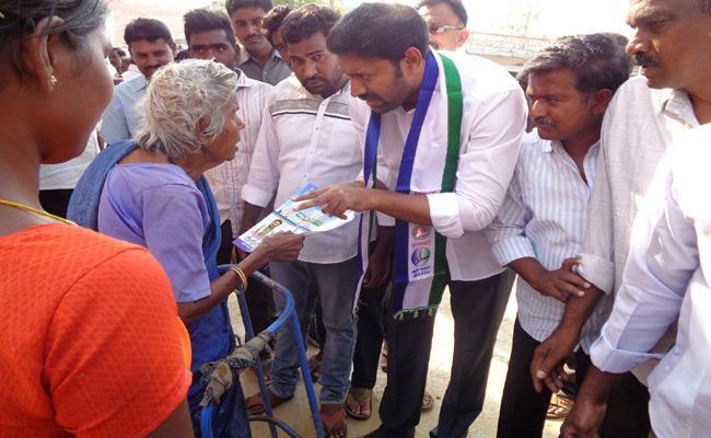 YSR Kadapa MP Candidate YS Avinash Reddy Campaign In Chakrayapeta - Sakshi