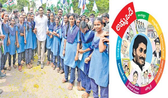 Education To  Children By Ammavodi Declared By YS Jagan - Sakshi