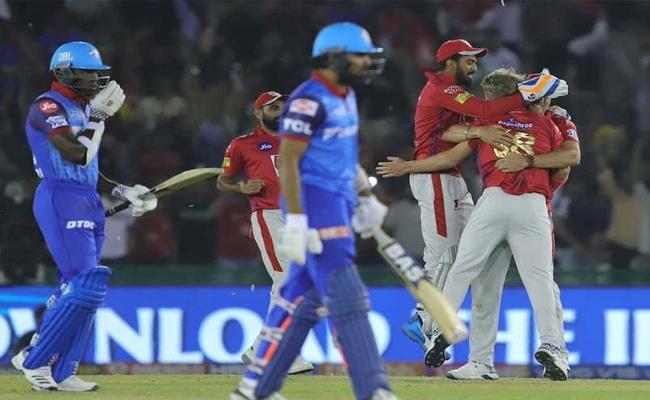 IPL 2019 Vaughan Trolls Delhi After Shocking Collapse Against Punjab - Sakshi
