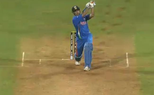 Never Ever Forget Ms Dhoni Winning Six - Sakshi