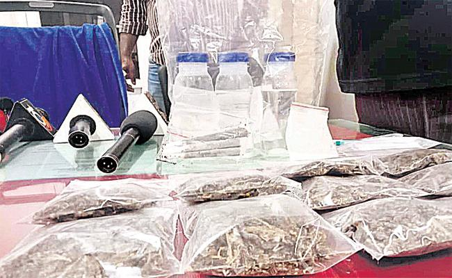 Drugs Smuggling in Colleges And Schools in Hyderabad - Sakshi