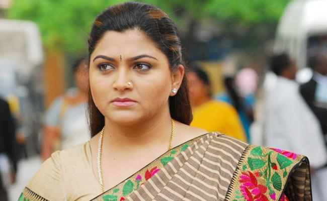 Kushboo Comments on DMK Leader Money in Tamil Nadu - Sakshi