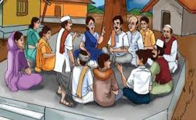Ten Members Get Employment In Each Village - Sakshi