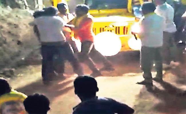 Unguturu TDP Leaders Attack On Dalits - Sakshi