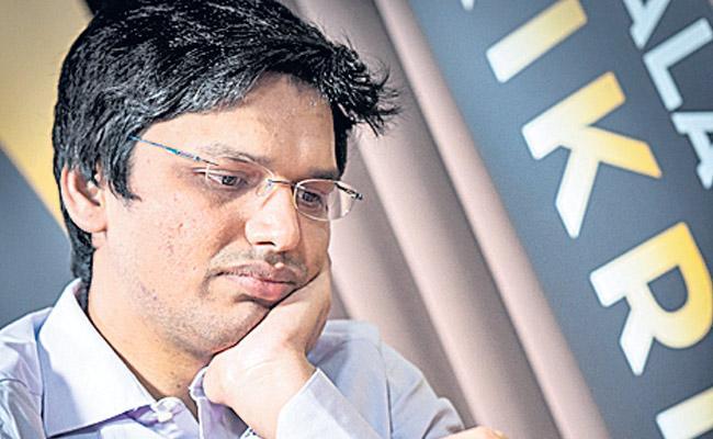 Hari Krishna was the first to win the international Chess Tournament - Sakshi