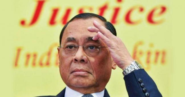Former Supreme Court Employee Alleges Sexual Harassment by Chief Justice Gogoi - Sakshi