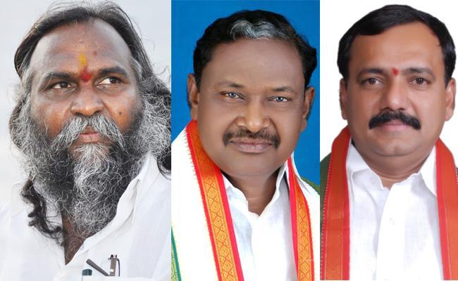 BIg shock to congress, 3 Telangana Congress MLAs set to join TRS - Sakshi