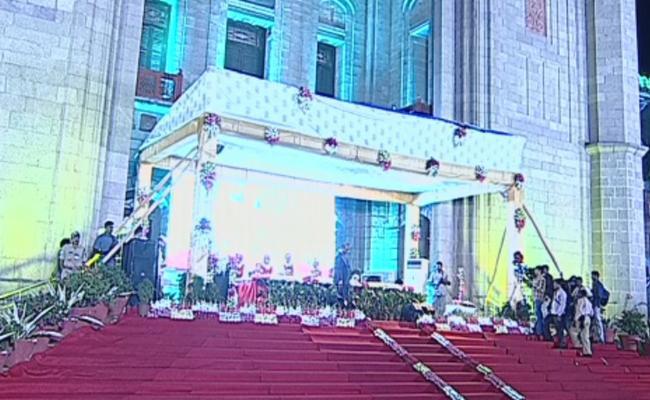 TS High Court centenary celebrations held in Hyderabad - Sakshi